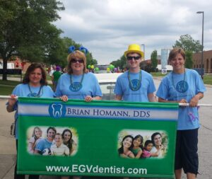 Dentist in Elk Grove Village Rotary Hometown Parade